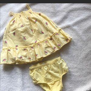 Baby girl gap summer dress
